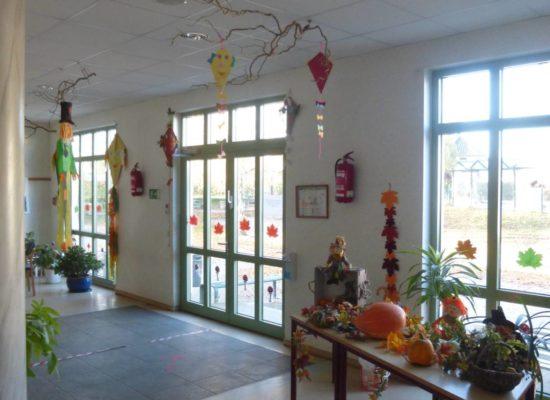 Herbstliche Stimmung in der Grundschule Passow